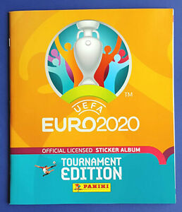 Panini UEFA EURO 2020 Tournament Edition Orange Nordic SWE/FIN Album mit Preis