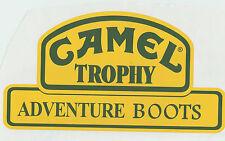"Motorsport Exterior Vinyl Sticker Camel Trophy Adventure Boots  4"" x 2""   x 2"