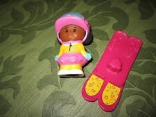 Fisher Price Little People Advent Calendar Christmas part Tessa AA girl Skies