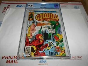 GODZILLA #23 CGC 9.8 (HIGHEST GRADE) (AVENGERS CROSS-OVER)(COMBINED SHIPPING OK)