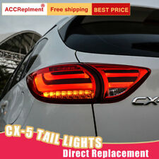 For Mazda CX-5 LED Taillights Assembly Dark / Red LED Rear Lamps 2013-2016