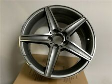 18 Mercedes Benz C43 Amg Style Rims Wheels Gunmetal Fits W204 W205 5x112