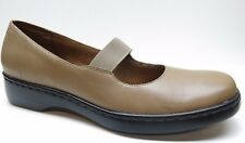 Auditions Brown Leather Mary Jane Wedge Loafer Pumps 12S 12 Narrow MSRP $120