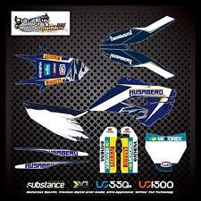 Husaberg TE300 15 Kit Blue Decal Sticker MX (337)