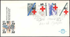 Netherlands 1983 Red Cross FDC First Day Cover #C27821