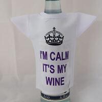 Novelty Bottle mini T-Shirt ideal birthday gift for anyone who loves wine