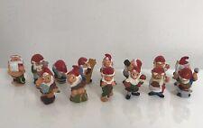 Lot 14 Nains Ferrero Kinder - diverses éditions