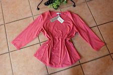 SERENA MALIN Damen Shirt Stretch Gr. 44 NEU! pink Baumwolle Modal