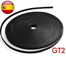 Correa Gt2 prusa Reforzada Rostock steel printer 3D cnc heatbed extruder 6mm