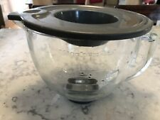 KitchenAid 5 qt. Tilt-Head Glass Bowl with Lid for Artisan Stand Mixer