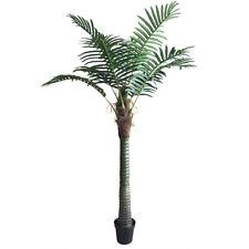 Palmizio Palma Cocco Albero Pianta Artificiale 220cm Decovego