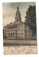 postcard Hillsdale Michigan MICH MI