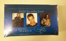 Ricky Martin Trading Card Unopened Pack Box Ricky Martin Factory Sealed Box