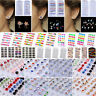 12/24 Pairs Non Piercing Clip on Magnetic Magnet Pearl Ear Stud Unisex Earrings