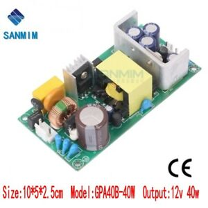 1pcs power supply 40W AC 220V to DC12V 3.5A switching Isolated module GPA40B