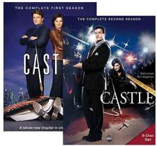 Castle: Season 1 And Season 2 [New DVD] Boxed Set, Shrink Wrapped, Subtitled,