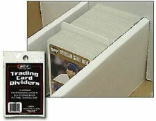 New (50 ct) BCW Standard Trading Card Dividers for Storage Boxes
