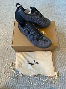 NEW Rapha Explore Powerweave Cycling Shoes Mountain Gravel - Black (Size 43)