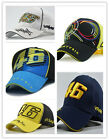 Valentino Rossi Cap NEW UK Seller MOTO GP Baseball Hat 46 Yellow Black Blue