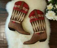 Seychelles Tan Leather Boots Size 6.5 US