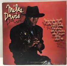 Miles Davis You're Under Arrest FC 40023 Lp Record Ex