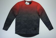 Men's Puma X size Large L Trapstar Red Active Pullover Sweatshirt Sweater NWT