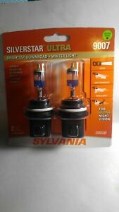 Sylvania Silverstar Ultra 9007 HB5 65/55W High/Low Beam Head Light Bulbs