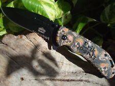 Personalized Engraved  SPRING ASSISTED KNIFE knives 030
