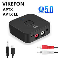 Wireless Bluetooth NFC Receiver 5.0 aptX LL RCA 3.5mm Jack Aux Audio Adapter BH