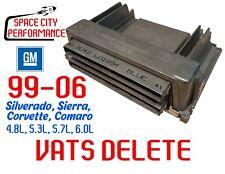 ECU VATS DELETE Service for 1999-2005 Chevrolet GMC Gen III 4.8L 5.3L 5.7L 6.0L