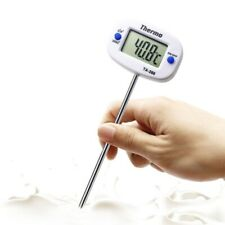 Rotatable Digital Food Thermometer BBQ Meat Chocolate Oven Milk Oil Cooking New
