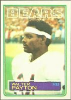 1983 Topps Football #36 Walter Payton Chicago Bears Card
