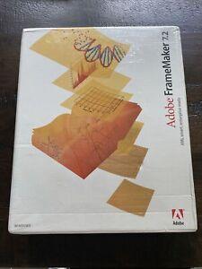 Adobe FrameMaker 7.2 Windows Full Retail Factory Sealed