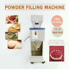 Automatic Powder Racking Filling Machine  Weigh Filler for Tea Seed Grain 10~999