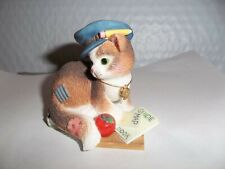 """Calico Kittens Figurine """" Thanks For Guiding Us To Our Goals"""""""