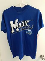 ORLANDO MAGIC Game Shirt NBA BASKETBALL Mens Medium Blue Short Sleeve NWT
