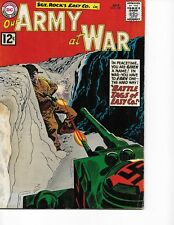 Our Army at War  #120 (Sgt Rock  FN  6.0) July-1962, DC