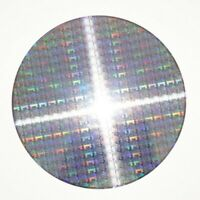 30cm/12-In Silicon Wafer Chip Monocrystalline Chip Decor Gift Teaching Materials