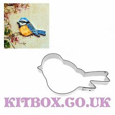 Bird Cutter - Blue Tit Shape for Cupcakes, Cake Decoration, Sugarcraft & Craft