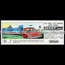 DINKY TOYS 1966 TOW AWAY GLIDER SET (118) TRIUMPH 2000 - Pub Publicité Ad #E121