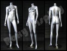 Fiberglass Female Headless Display Mannequin Manikin Manequin Dress Form #A3Bs-S