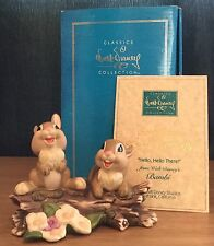 Wdcc / Walt Disney Classic Collection Bambi Thumper's Sisters Boxed & Coa