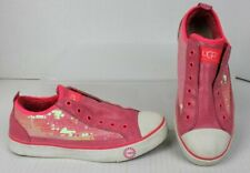 UGG Womens Sz 6 Laela Sparkles Sequin Fashion Sneakers Hot Pink GUC Retails $110