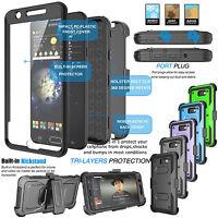 Samsung Galaxy J7 Sky Pro/J7 V/J7 Perx Refined Belt Clip Holster Hard Case Cover