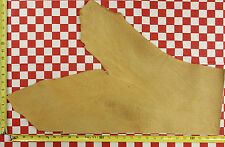 """HORWEEN NATURAL TUMBLED BISON  5-6 oz LEATHER HIDE 28""""x17""""  NAT. QUALITY"""