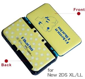 Snap on Case Cover Shell for Nintendo New 2DS XL/LL Double Sides Designs