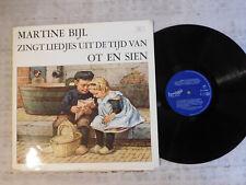 Martine Bijl – Zingt Liedjes Uit De Tijd Van Ot En Sien - LP with booklet