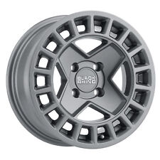 14 inch 14x7 Black Rhino York Utv Matte Gunmetal wheel rim 4x5.35 4x136 +10