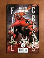 Final Crisis: Rage Of The Red Lantern #1 (2008) 9.2 NM DC Key Issue Variant