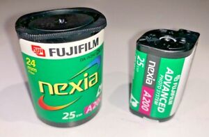 A roll of FujiFilm Nexia A200 APS Film, 25 exp, expiry date unknown